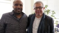 Daniel Libeskind and I at the Goethe-Institut for the Daniel Libeskind: Architecture for the Angel of History Exhibition Opening/Lecture Update: 6.8.2012 – I am working on some poems inspired by...